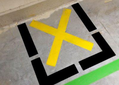hvd-markeringen kruis-nooduitgang